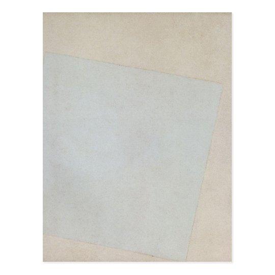 Suprematist Composition: White on White by Kazimir Postcard