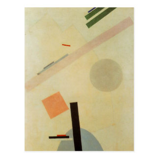 Suprematist Painting by Kazimir Malevich Postcard