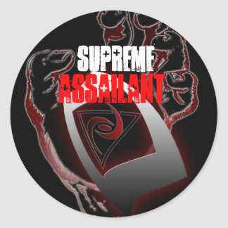 SUPREME ASSAILANT STICKER