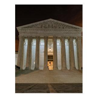 Supreme Court at Night Postcard