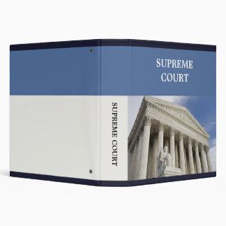 Supreme Court Binder