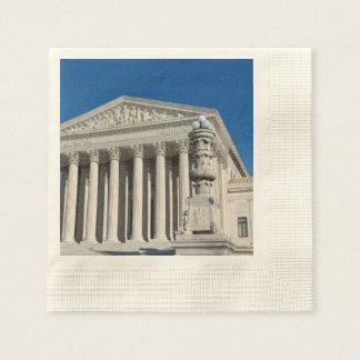 Supreme Court Building Paper Napkin