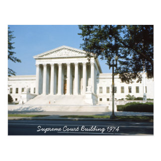 Supreme Court Building Postcard