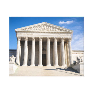 Supreme Court of the United States Canvas Print