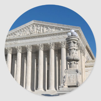 Supreme Court of the United States Classic Round Sticker