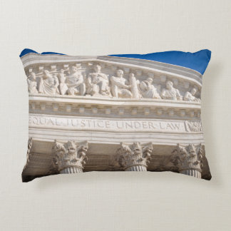 Supreme Court of the United States of America Accent Pillow