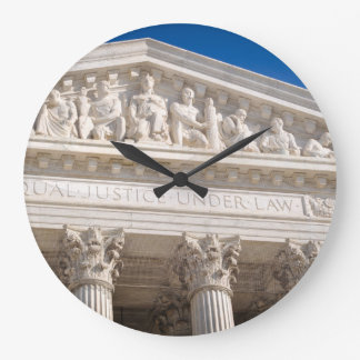 Supreme Court of the United States of America Large Clock