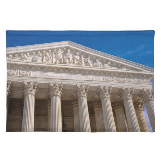 Supreme Court of the United States of America Placemat