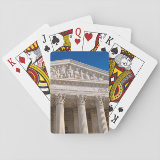 Supreme Court of the United States of America Playing Cards