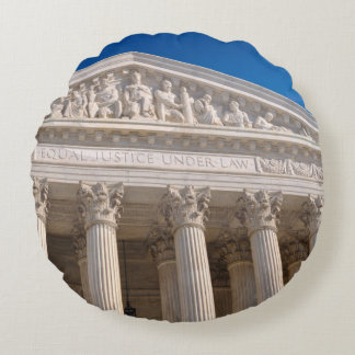 Supreme Court of the United States of America Round Pillow