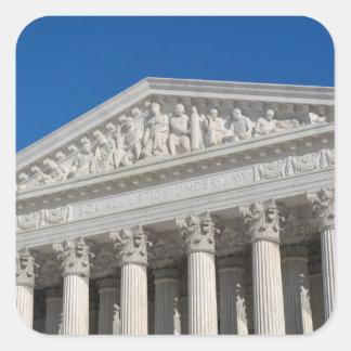 Supreme Court of the United States Square Sticker