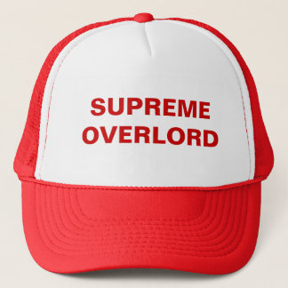 SUPREME OVERLORD TRUCKER HAT