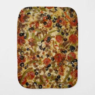 Supreme Pizza Burp Cloth