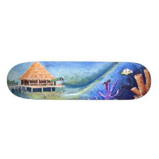 Supreme Pop! Competition shaped board by Yotigo Skate Deck