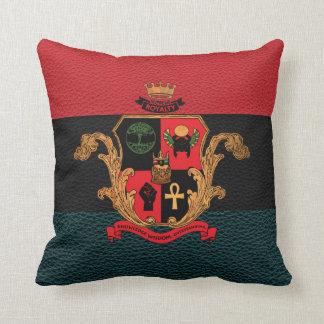 Supreme Royalty Nobility Crest Pillow(Tri,Black) Throw Pillow
