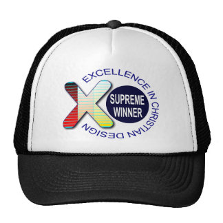 SUPREME WINNER Excellence in Christian Design Hats