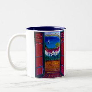 Sur La Mer Two-Tone Coffee Mug