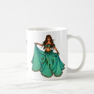 Sura Middle Eastern Belly Dancer Coffee Mug