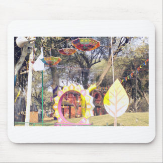 Suraj Kund Festival Outdoor party tree decorations Mouse Pad