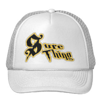 Sure Thing Hat