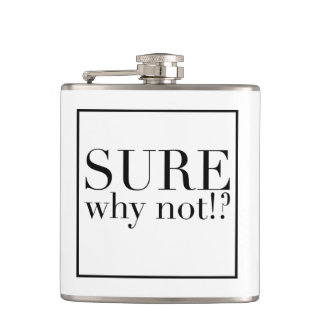 Sure Why Not Flask