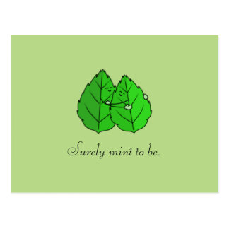 """""""Surely Mint to Be"""" Postcard"""