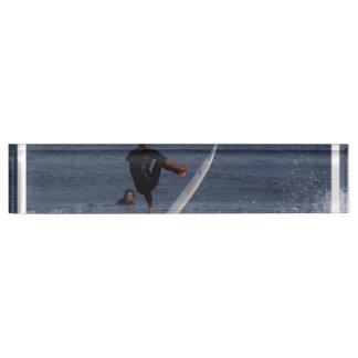 Surf Action Desk Name Plates