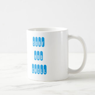 Surf and Chill mosquito Coffee Mug
