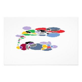 Surf Art Custom Stationery
