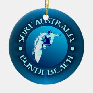 Surf Australia (Bondi) Ceramic Ornament