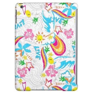 Surf beach love iPad air covers