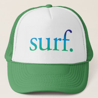surf | Blue and Green Beach Surf Tropical Hat