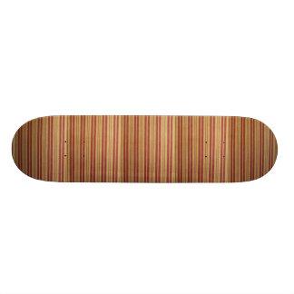Surf Board. Design: Faded Stripes. Skate Board