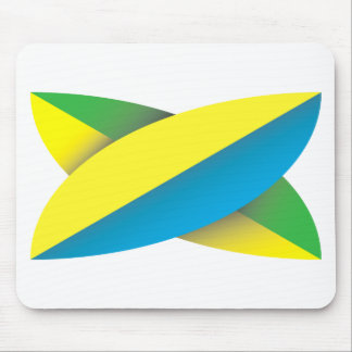 Surf Board Mouse Pad