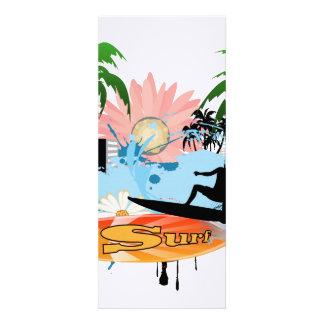 Surf boarder announcement