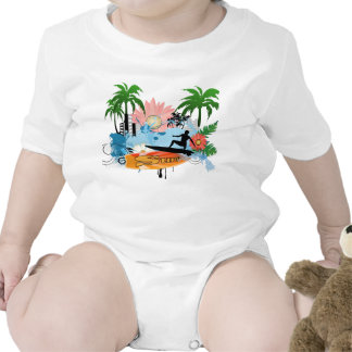 Surf boarder rompers