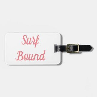 Surf Bound Luggage Tag