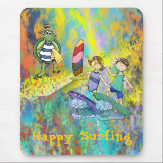 Surf Buddies Mouse Pad