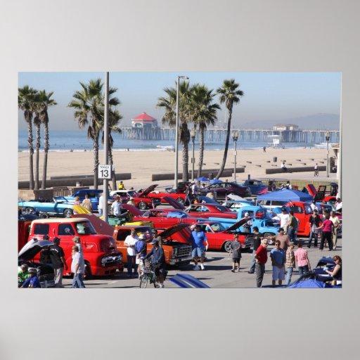 Surf City Car Show Poster