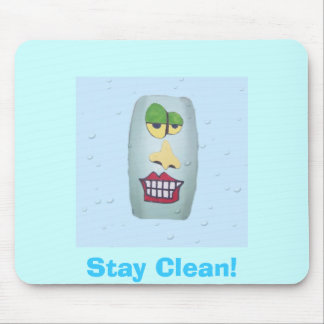 Surf Clean! Mouse Pad