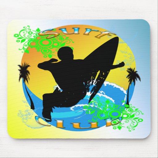 Surf Club - Surfer Mousepad
