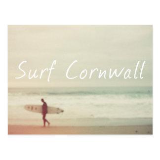 Surf Cornwall Postcard. Postcard