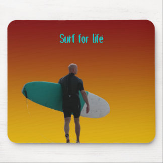 Surf for life Mousepad