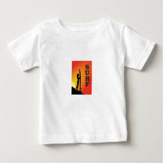 surf girl baby T-Shirt