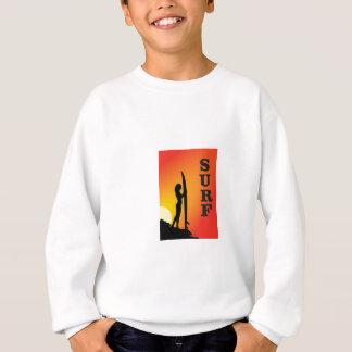 surf girl sweatshirt