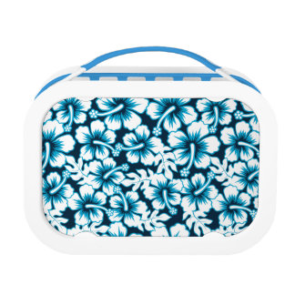 Surf graphic floral lunch box