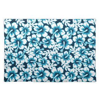 Surf graphic floral placemat