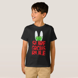 Surf Groms rule  (red) T-Shirt