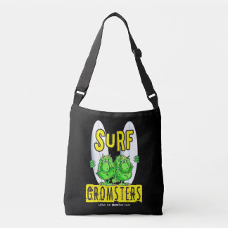 Surf Gromsters black Crossbody Bag
