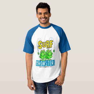 Surf gromsters blue two tone t-shirt